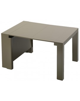 Amazing ouverte avec allonges with table console avec rallonge intgre - Table console avec rallonge integree ...