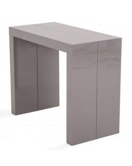 console extensible pour 8 10 12 et 16 couverts en bois ou en laque lotus. Black Bedroom Furniture Sets. Home Design Ideas